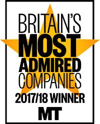 Britain  Most Admire company logo